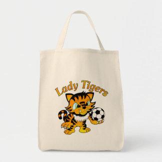 Señora Tigers Soccer Bolsas