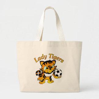 Señora Tigers Soccer Bolsa
