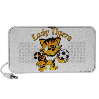 Señora Tigers Soccer iPhone Altavoces
