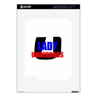 Señora Underdogs iPad 3 Skins