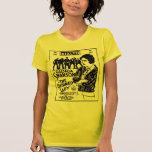 Señora Untamed 1926 de Gloria Swanson Camisetas