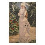 Señora Valtesse de la Bigne, 1889 Cuadro De Madera