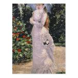 Señora Valtesse de la Bigne, 1889 Postales
