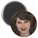 Señora Vamp Imán Para Frigorífico