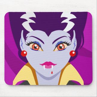 Señora Vampire Alfombrilla De Raton