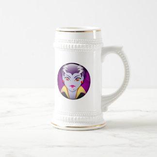 Señora Vampire Taza De Café