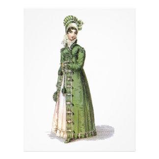 Señora verde de la regencia membrete