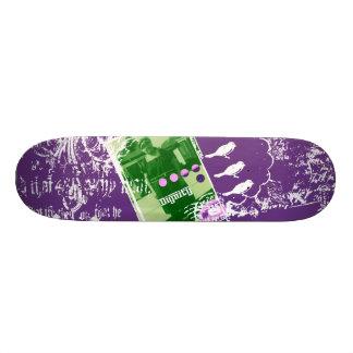 Señora verde patin personalizado