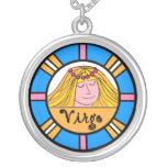 Señora Virgo Round Necklace Collares