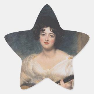 Señora Walls del der de Bildnis Colcomanias Forma De Estrellas