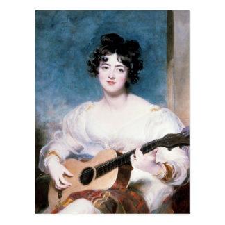 Señora Wallscourt, 1825 Postales