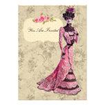 Señora Wedding Invitations del Victorian Anuncios
