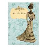 Señora Wedding Invitations del Victorian Anuncio Personalizado