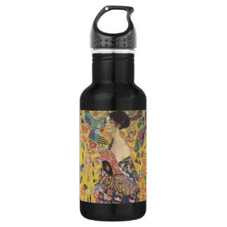 Señora With Fan de Gustavo Klimt