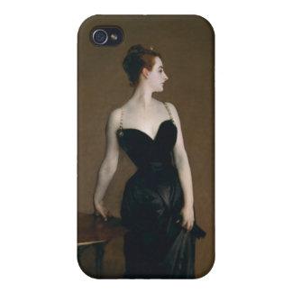 Señora X de John Singer Sargent iPhone 4 Fundas