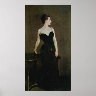 Señora X de John Singer Sargent Póster