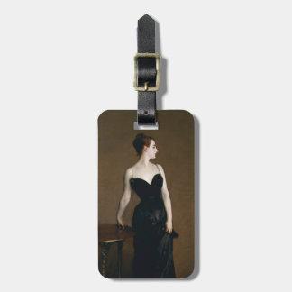 Señora X Luggage Tag de John Singer Sargent Etiquetas Maleta