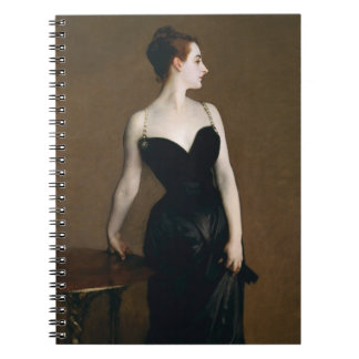 Señora X Notebook de John Singer Sargent
