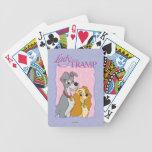 Señora y el vagabundo baraja de cartas