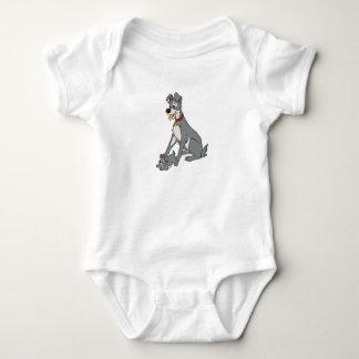 Señora y el vagabundo Disney Body Para Bebé