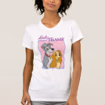 Señora y el vagabundo - marco camisetas
