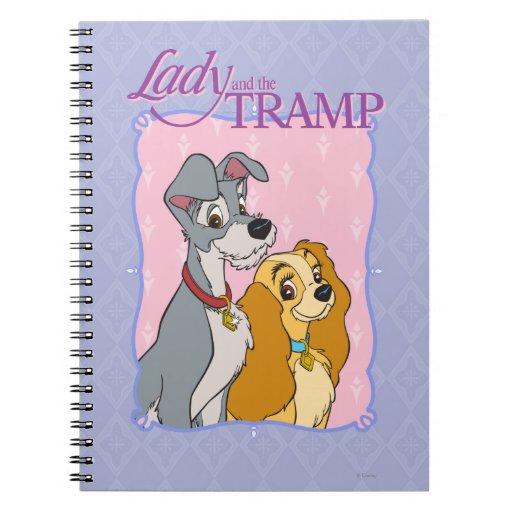 Señora y el vagabundo - marco cuadernos