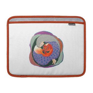 Señora y Fox. Funda MacBook