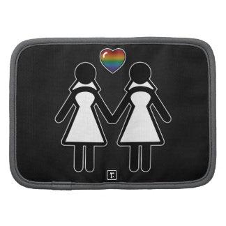 Señora y señora Lesbian Pride Brides Organizadores