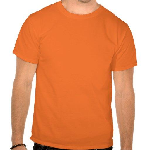 Señoras anaranjadas T T-shirts