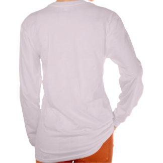 """Señoras """"camiseta larga del rey"""" manga de la"""