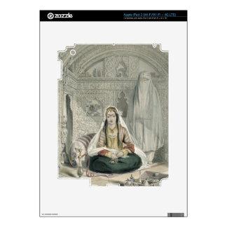 Señoras de Caubul en su adentro y la Hacia fuera-d iPad 3 Pegatina Skin