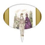Señoras de la moda decoraciones para tartas