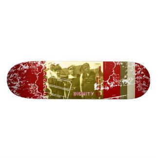 Señoras de la orilla tablas de skate