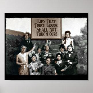 Señoras de la prohibición póster