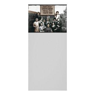 Señoras de la prohibición tarjetas publicitarias