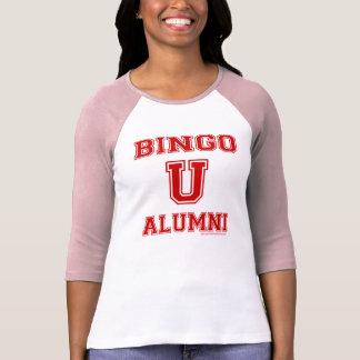 Señoras de los alumnos del bingo U 3/4 camisa del
