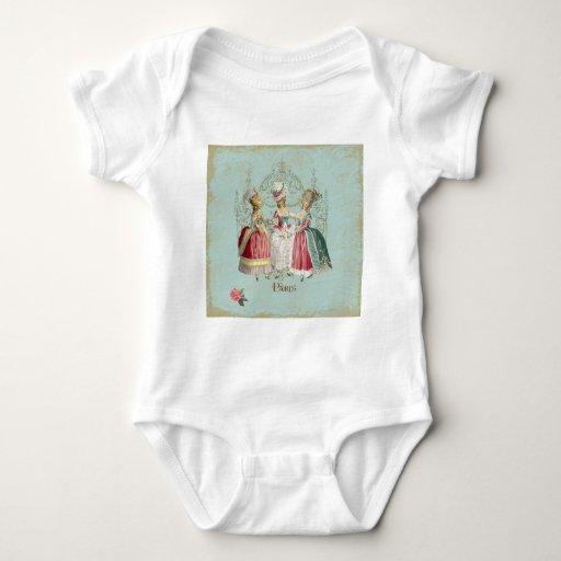 Señoras de Marie Antonieta en esperar Mameluco De Bebé