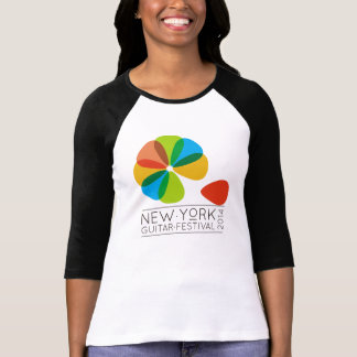 Señoras de NYGF 3 4 raglán de la manga cabido Camisetas