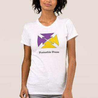 Señoras de Praisable Tee Shirt