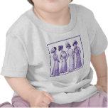 Señoras del epoche de la belleza camisetas