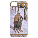 Señoras del esquí iPhone 5 cobertura