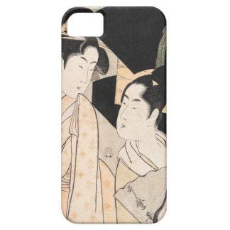 Señoras del japonés de Kitagawa Utamaro del vended iPhone 5 Case-Mate Cobertura