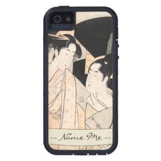 Señoras del japonés de Kitagawa Utamaro del vended iPhone 5 Carcasas