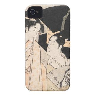 Señoras del japonés de Kitagawa Utamaro del vended iPhone 4 Fundas