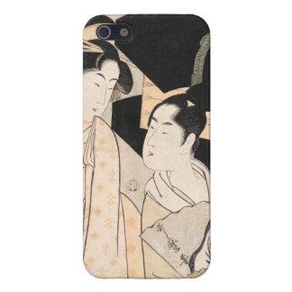 Señoras del japonés de Kitagawa Utamaro del vended iPhone 5 Fundas