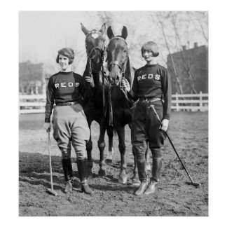 Señoras del polo 1925 poster
