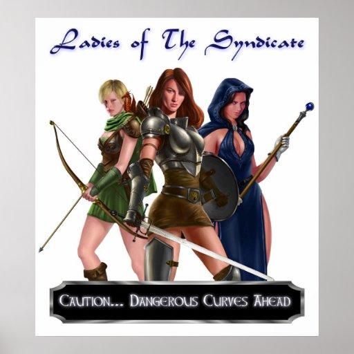 Señoras del sindicato #5 póster