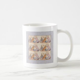 señoras del victorian taza clásica