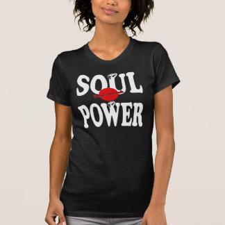 Señoras exclusivas PPR T del poder del alma de Camiseta