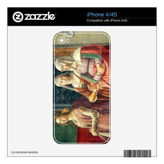 Señoras florentinas, del nacimiento de St. John Skins Para iPhone 4S